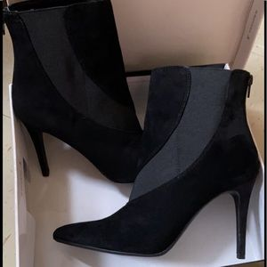 🔥 Women's Nine West Booties BLK/SU Size 9 🔥